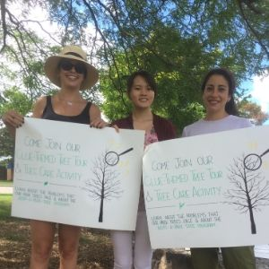Three Young Urban Forests Leaders
