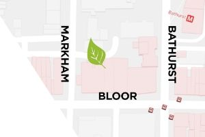Map of Bathurst garden location