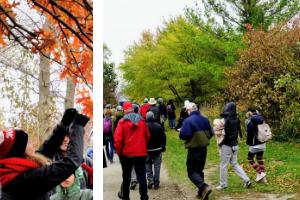 © Kanchan Maharaj / LEAF: Fall/winter session participants walking and Brenna