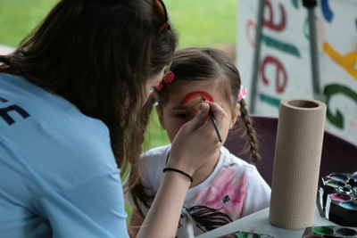 Face painting will return to the Leslieville Tree Festival in 2013
