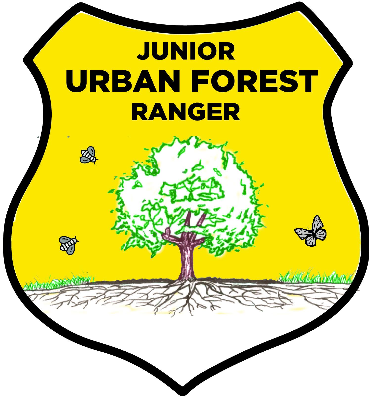 2017 Junior Urban Forest Ranger Badge Sticker