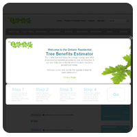 Ontario Residential Tree Benefits Estimator