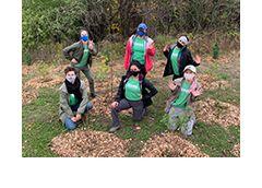 LEAF Team at planting evnet