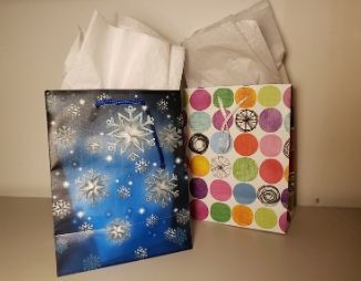 Two gift bags